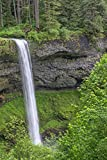 Posterazzi PDDUS38JBA0398 Oregon Falls State Park, Spring Flow of South Fork Silver Creek Photo Print, 18 x 24, Multi