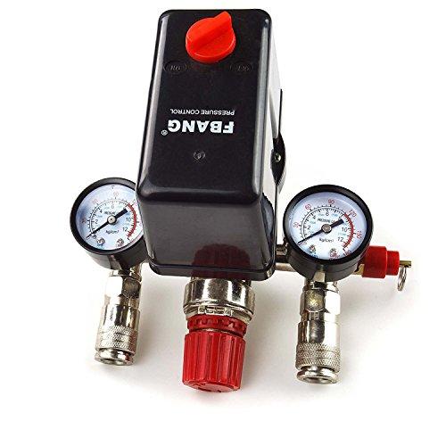 Interruptor Compresor De Aire, 380 / 400V Pressure Regulator with pressure switch compressor compressor switch Control switch