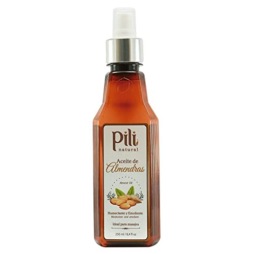 Pili Natural Almond Oil - Skin Moisturizer - 8.4oz
