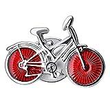 Milageto Bicicleta Plata Solapa Pin Insignia Abrigo Traje Regalo de Boda Fiesta Collar de Camisa