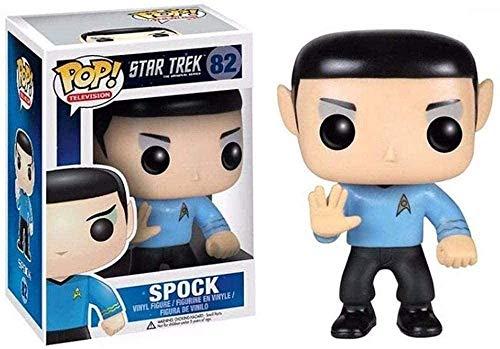 Star Trek-Spock K.O.-Modelo de personaje de PVC-Productos de moda-Decoración del hogar-Decoración de coche-Regalo de cumpleaños Tamaño 10cm