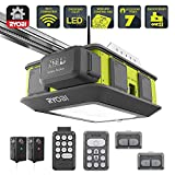 shareShare Save to favoritesSave to Favorites printPrint RYOBI Ultra-Quiet 2 HP Belt Drive Garage Door Opener w/Battery Backup Capability and 4 Ah Lithium-Ion High Capacity Battery