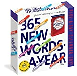 365 New Words-A-Year Page-A-Day Calendar 2022: For Students, Writers, Crossword Fanatic s and Lover s of Language.