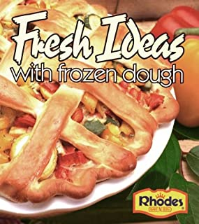Rhodes Fresh Ideas with Frozen Dough (lay-flat binder, wipe clean pages)