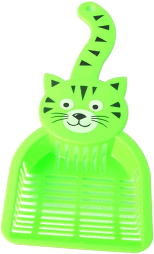 Price reduction SoundsBeauty Lovely Plastic Litter Scoop Sand Waste Pet Scoo Cat New item