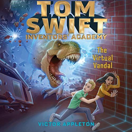 The Virtual Vandal audiobook cover art