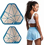 SIGNAL RELIEF Adhesive Pain Patches - New Pain Relief Reusable Patch with Micro Nano-Capacitors & Extra Strength Relief for Any Ache, Muscle, or Joint Pain Multi Pack (Aqua, Double Pack 3.5' + 4.5')
