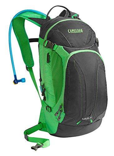 CamelBak M.U.L.E. 100 - Sac dos avec systme hydratation - vert/noir 2015