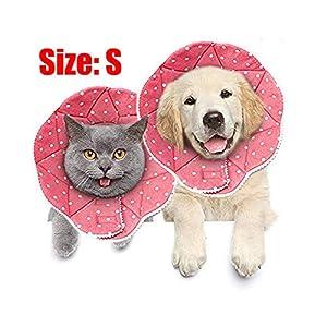 Meiso-Comfy Cone-Collerette confortable de post-chirurgie pour chats et chiens, robuste, imperméable, résistante aux griffures et morsures, facile à nettoyer, avec attache ajustable