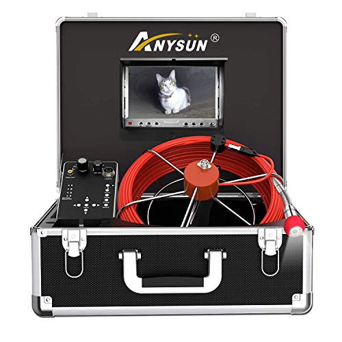 Sewer Camera, Pipe Inspection Camera with Distance Counter Plumbing...