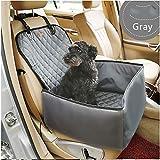 Seggiolino Auto Per Cane Coprisedile 2 In 1 Cane Booster Car Seat Cover Carrier Protector Portatile...