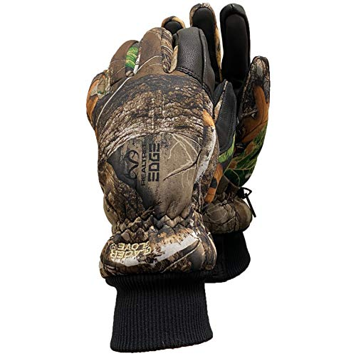 Glacier Glove Alaska Pro Camo Waterproof Insulated Glove, Realtree, Large