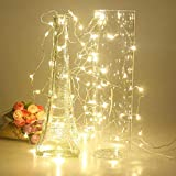 Luces de cadena LED de batería, utilizadas para la decoración de la fiesta de guirnaldas de Navidad Árbol de Navidad luces de hadas intermitentes A7 2m20 leds usb