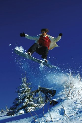 Snowboarding Blank Book (Sports 150 Blank, Band 24)