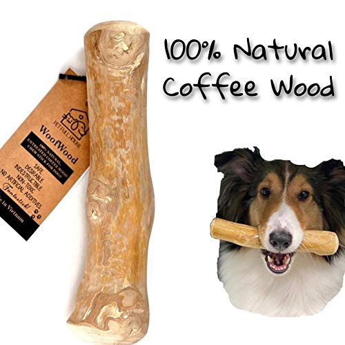 Pet Full House WoofWood Dog chew Sticks, Safe, Natural & Healthy chew Toys, Real Coffee Wood, Long Lasting, Durable chewable...