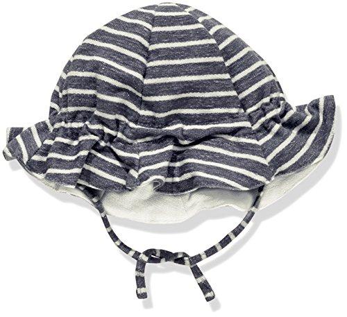 Barts Frottee Sonnenhut 86632031 Emu Hat In Navy - Weiß Gestreift Gr. 47 (12mns - 1,5 yrs)