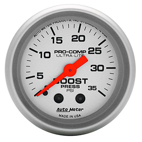 Auto Meter 4304 Ultra-Lite Mechanical Boost Gauge