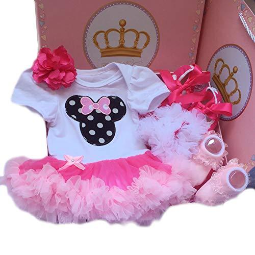 JUNBABY Boîte-Cadeau pour Bébé, Cas Actuel De Robe pour BéBé, Bébé De Style Mignon-C-M