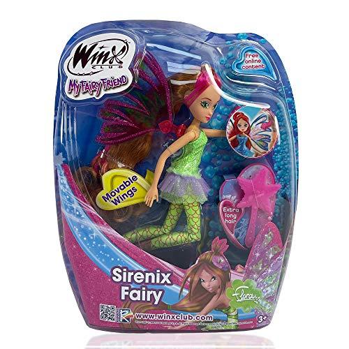 Winx Club My Fairy Friend Sirenix Flora - Bambola giocattolo alla moda