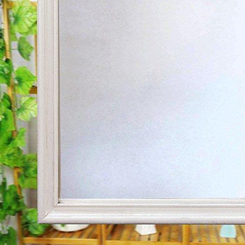 Ventana privacidad de vidrio esmerilado película, película, reutilizable anti-UV de lámina estática para ventana cristal casa, vinilo, 90CM*200CM