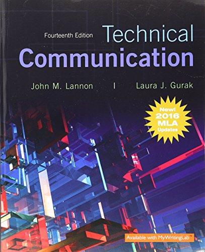 Technical Communication, MLA Update (14th Edition)