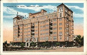 Manatee River Hotel Bradenton, Florida Original Vintage Postcard