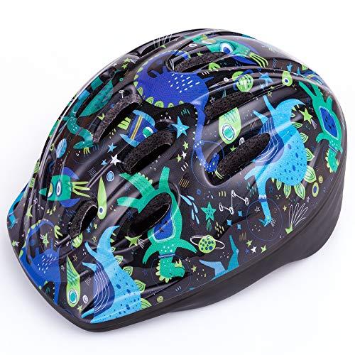 OutdoorMaster Toddler Kids Bike Helmet - CPSC Certified