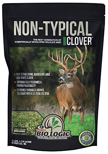 BioLogic Non-Typical Clover Food Plot Seed for Deer