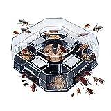 BESTonZON Trampas para cucarachas Reutilizables Sin contaminación Cucaracha cucaracha Cazadora de cucarachas - Lagre