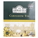 Ahmad Tea Cardamom Tea (Pack of 1, Total 100 Tea Bags)