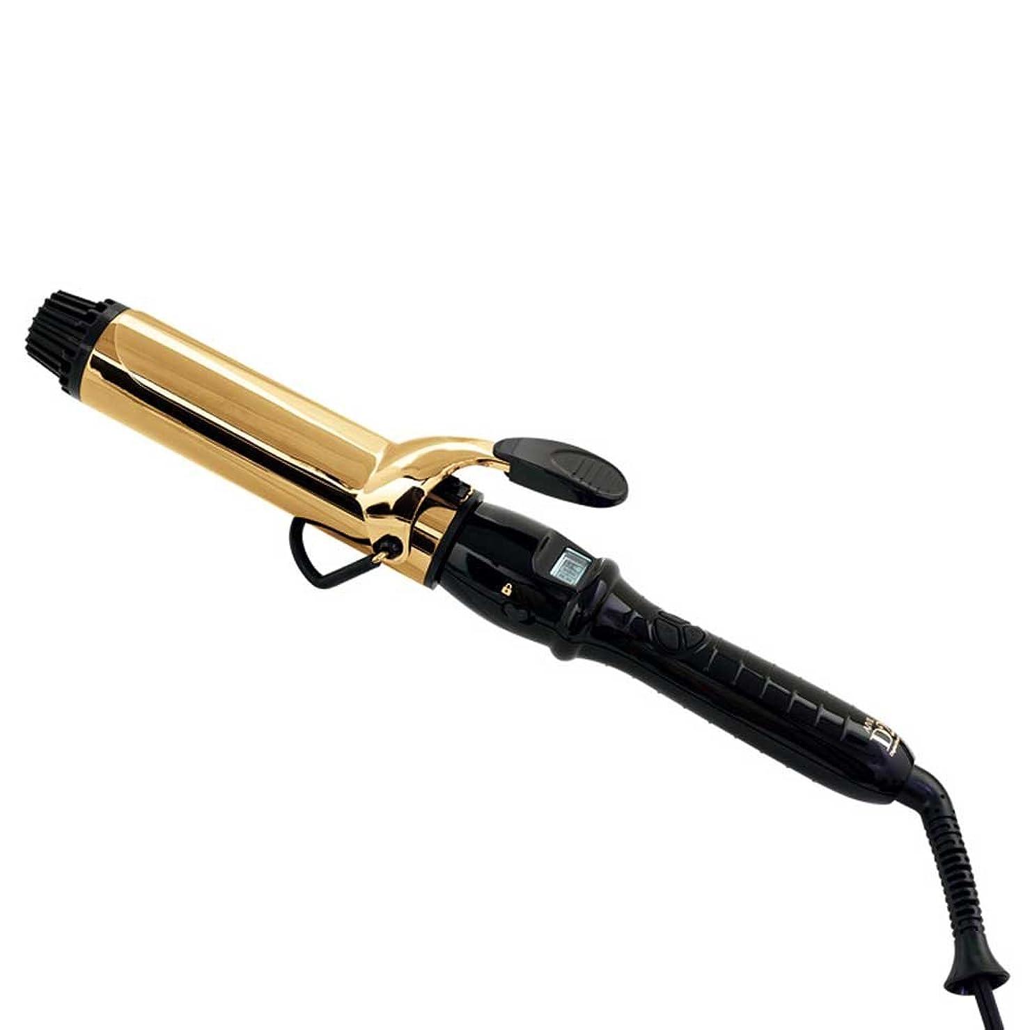中庭藤色地中海AIVIL(アイビル) D2アイロン ゴールドバレル(I-D2G3802)38mm