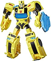 Transformers Bumblebee Cyberverse Adventures Battle Call Officer Class Bumblebee, Voice Activated Energon Power Lights...