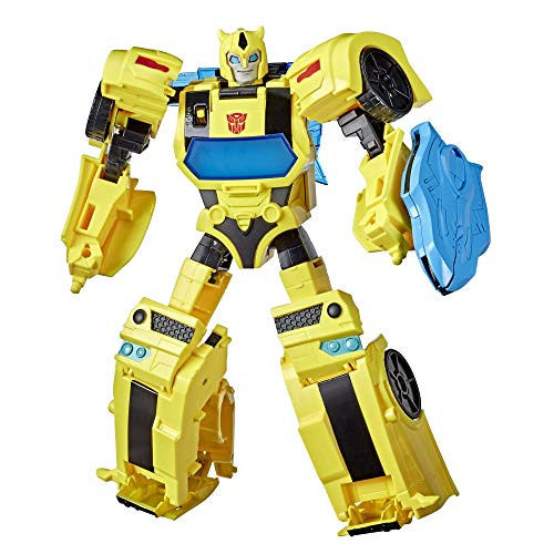 Transformers E8381 Bumblebee Cyberverse Adventures Battle Call Officer-Klasse Bumblebee, stimmenaktivierte Lichter und Sounds