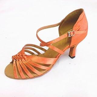073db77e T.T-Q Zapatos de Baile de tacón de Mujer Personalizados más Colores  Bronceado