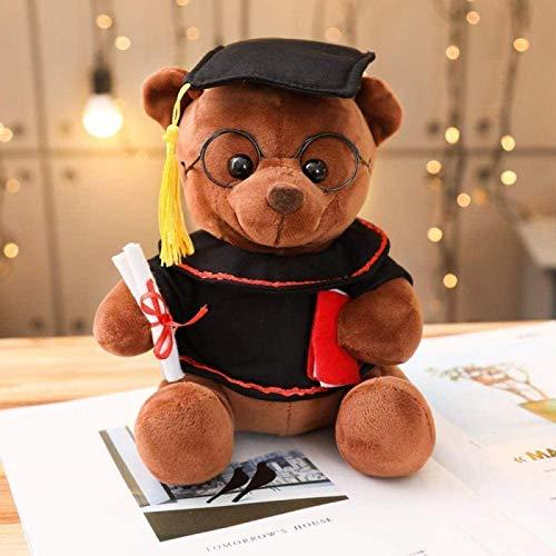 siyat 18-35 cm Niedliche Dr. Bär Plüschtier Spielzeug weiche gefüllte Teddybär Tierpuppe Abschlussgeschenk Home Decoration für Kinder Mädchen WJ514-35cm_3_ Jikasifa