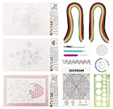 Quiling Kit, 29 Rayas de Papel de Colores, Hacen Exquisitas Decoraciones Artesanales y Álbumes de Recortes