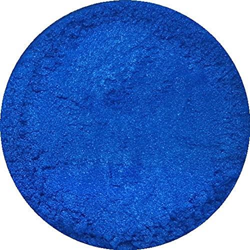 Azul eléctrico cosmético polvo de mica 3G-50G para jabón, sombras de ojos,...