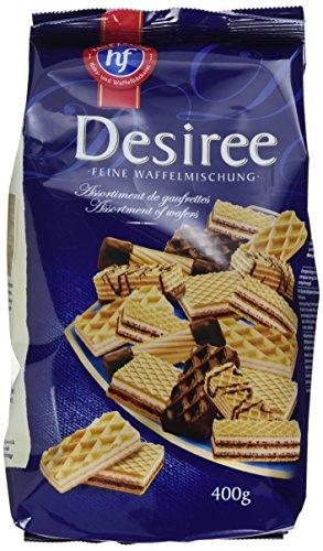 Hans Freitag Keks- und Waffelbäckerei Feine Waffelmischung Desiree, 10er Pack (10 x 400 g)