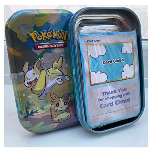 Pokemon Mini Tin Bundle with 50x Pokemon Cards - 1x Coin - 1x Ultra Rare...