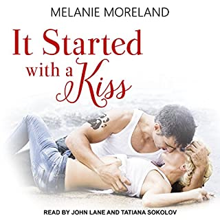 It Started with a Kiss audiobook cover art