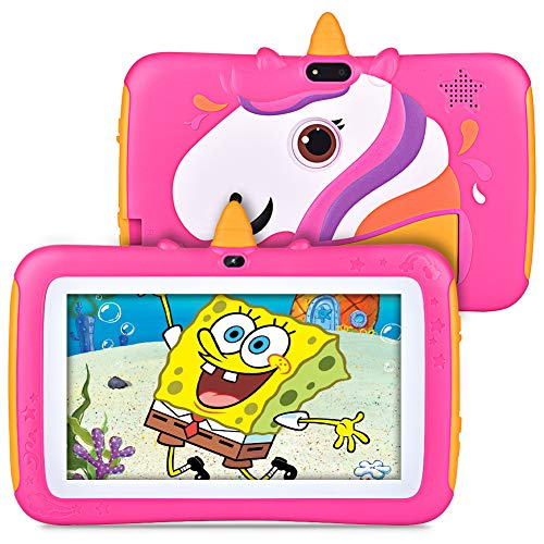 Tablet for Kids 7 inch Kids Tablet, 2GB RAM 16GB ROM, Android 9.0 Tablet, Parent Control, IPS HD Display, Kid-Proof