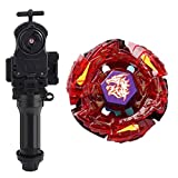 Battling Toys - Ultimate Meteo L-Drago Rush Red Metal Fusion Fury Masters with Power Launcher & Grip Battle Set
