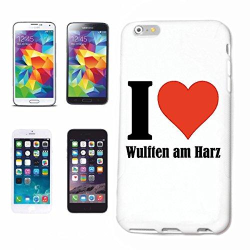 Bandenmarkt telefoonhoes compatibel met iPhone 6 I Love Wulften aan Hars Hard Case Cover mobiele telefoon Cover Smart Cover