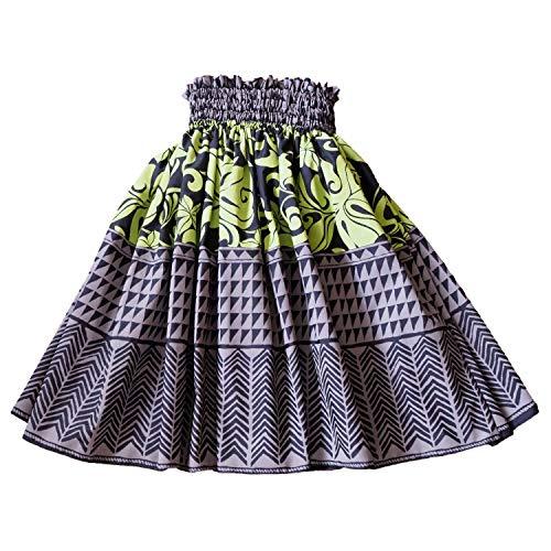 HULA JAM女士Mauna Kea灰色单身夏威夷Pa'u Hula裙