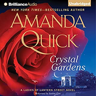 Crystal Gardens audiobook cover art