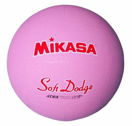 ミカサ ソフトドッジボール2号 軽量190g ピンク 日本ドッジボール協会推薦球 小学校用 STD-2R P