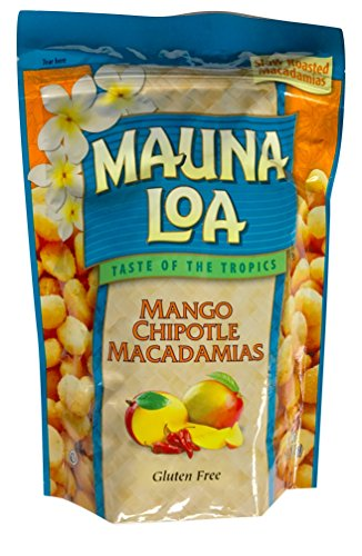 Mauna Loa Hawaiian Roasted Macadamia Nuts (Mango Chipotle, 10 Ounce)