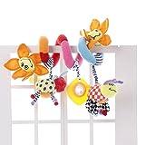JYSPORT Baby Kinderbett Spielzeug–und Activity Spirale um Buggy Mobile Auto Sitz...