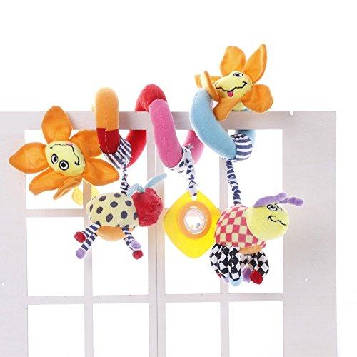 JYSPORT Baby Kinderbett Spielzeug–und Activity Spirale um Buggy Mobile Auto Sitz Spielzeug–Bett aufhängen New Infant Plüsch Toys–mit 0–36Monate Baby, sonnenblume