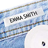100 Personalized Iron-on Fabric Labels to Mark Your Clothes. Gentle with Your Kids Skin, for Children's School Uniform / Clothes / Clothing Labels for Kids, Baby and Children.